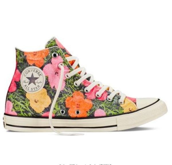 海外限定★送料込★コラボ★Converse All Star Hi Andy Warhol
