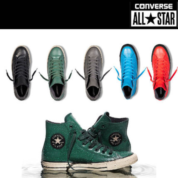 話題沸騰!防水☆Chuck Taylor All Star Rubber5色から