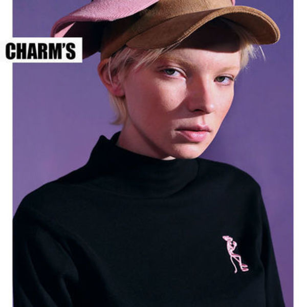 Charm's正規品★CHARM'S X PINKPANTHER タートル★UNISEX