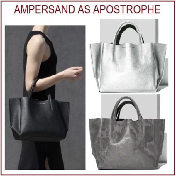 ★Ampersand As Apostrophe★ Half Tote スモールトートバッグ