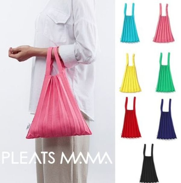 mini toto bag ミニトートバッグ pleatsmama korea