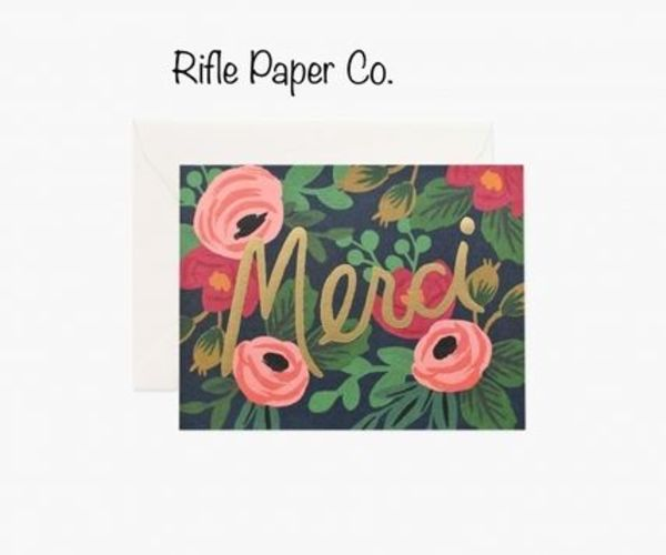 Rifle Paper Co. サンキューカード2枚セット