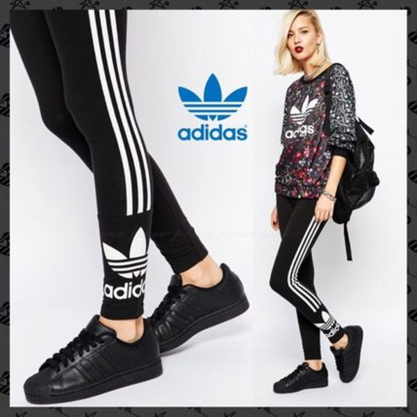 【最安値★】adidas Originals*新作*3 Stripe Leggings*関送込*