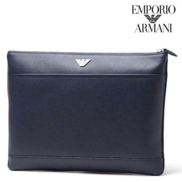A4対応で実用的 ★ EMPORIO ARMANI ★ セカンドバッグ 2016SS