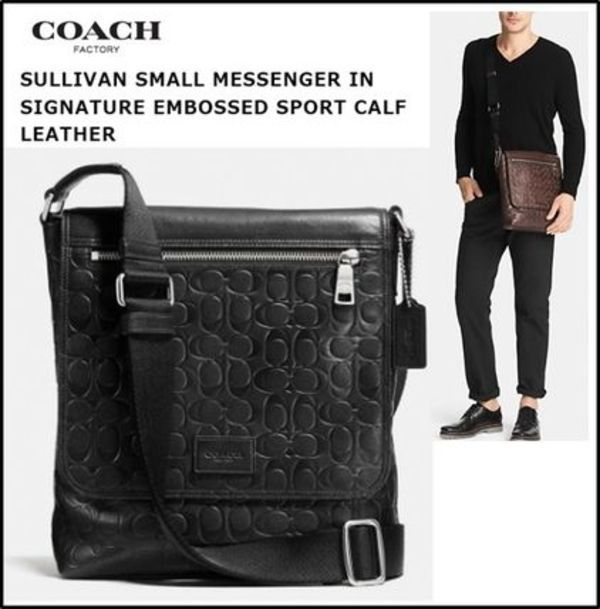 【COACH】Sullivan Small Messenger In Signature Sport F71650