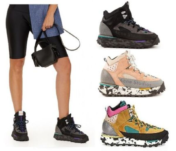 ACNE Bertrand High-top outdoor sneakers ハイトップスニーカー