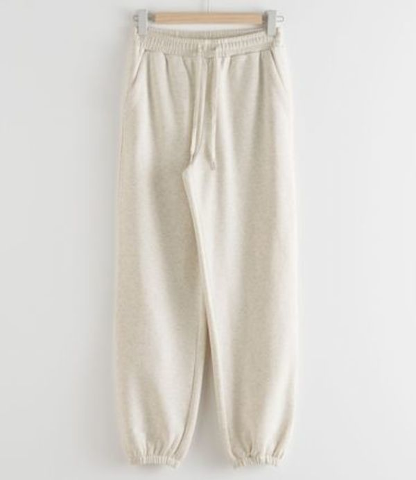 """""""& Other Stories"""" Relaxed Drawstring Trousers Beige"""