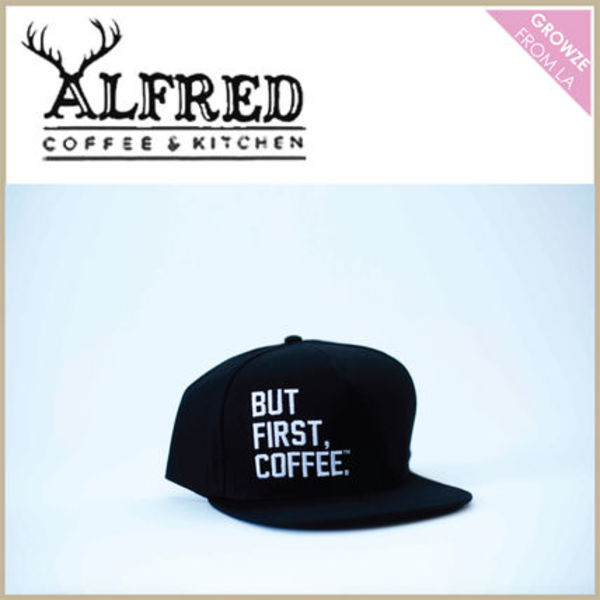 【Alfred Coffee】日本未入荷!BUT FIRST COFFEE スナップバック