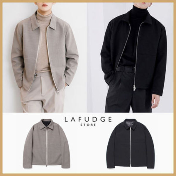 ◆LAFUDGE STORE◆ 20SS ESSENTIAL MINIMAL JACKET (全2色)