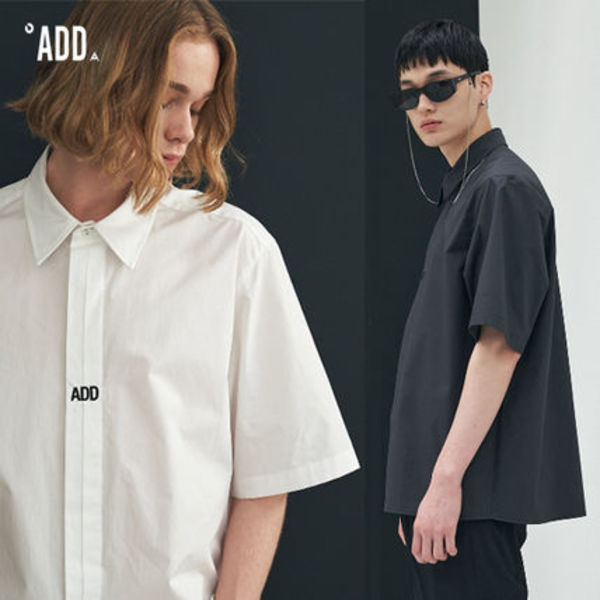 ADD SEOUL正規品★20SS★FOLDED PLACKET SHORT SLEEVE SHIRT