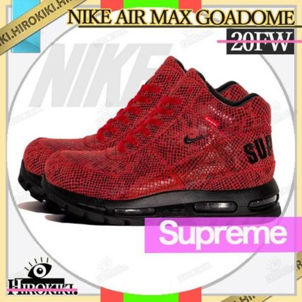 20FW /SUPREME × NIKE AIR MAX GOADOME FIRE RED ゴアドーム
