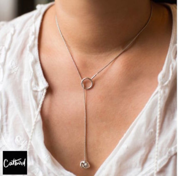 【Catbird】LURO NECKLACE Sterling silver