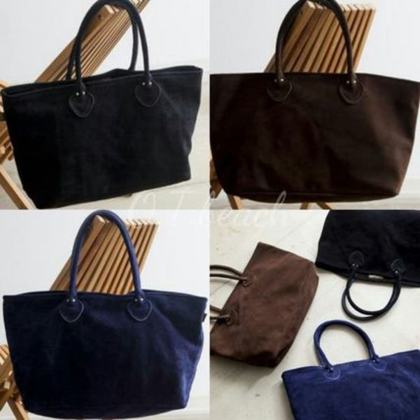 【OCEANS掲載】★Vanson for Ron Herman/Vanson Suede tote bag