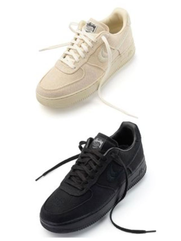 20AW Stussy×Nike Air Force 1 Low