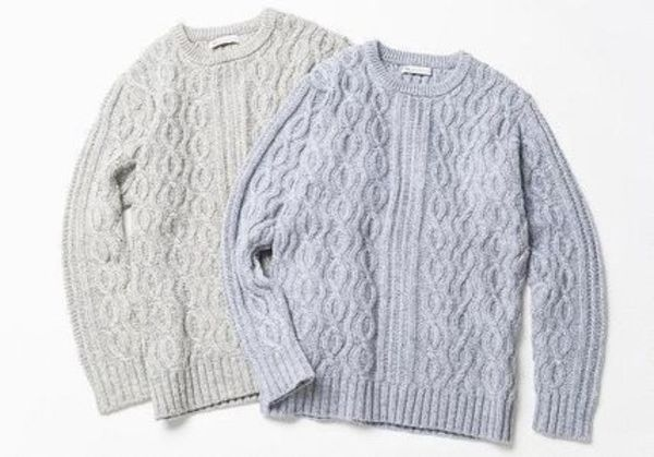 【新作】ギフトにもRon Herman California cable knit