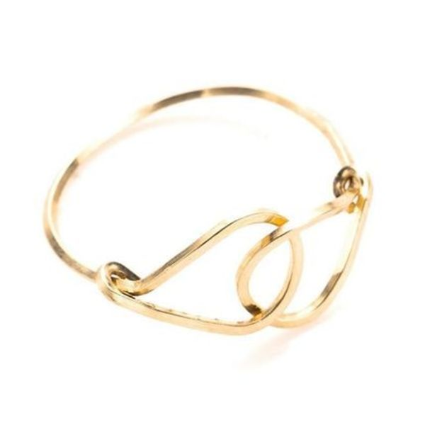 【by boe】Interlocking Drop Ring リング R56