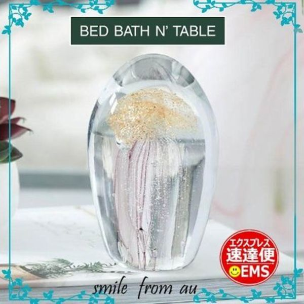 BED BATH N' TABLE★GLASS JELLYFISH★ガラス製クラゲのオブジェ