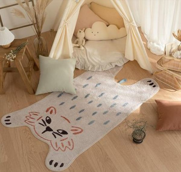 【DECO VIEW】Dreaming Cat's Soft Rug