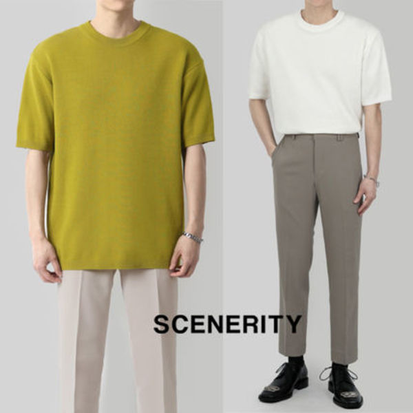 SCENERITY And Short-sleeved Knit
