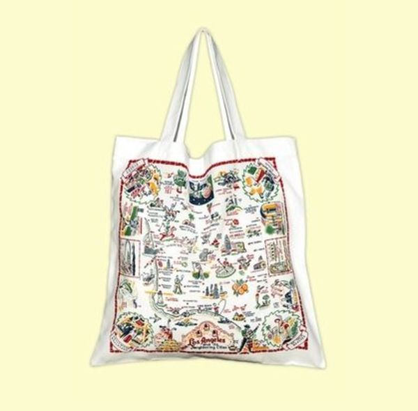 ★The Red & White Kitchen★Tote Bag Los Angeles トートバッグ