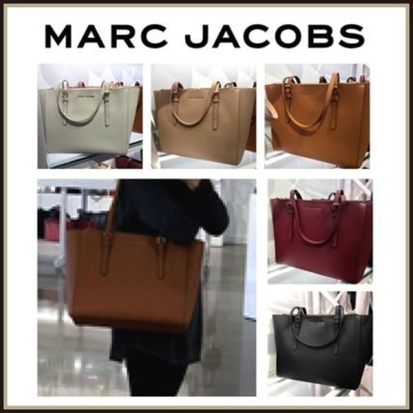 MARC JACOBS☆Commuter Leather Tote Bag A4可能☆送料込