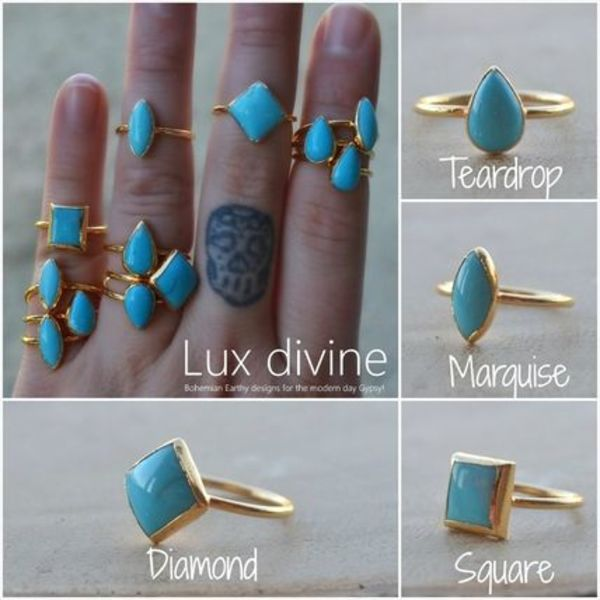 ★SLEEPING BEAUTIES Turquoise ターコイズ リング★Luxdivine★