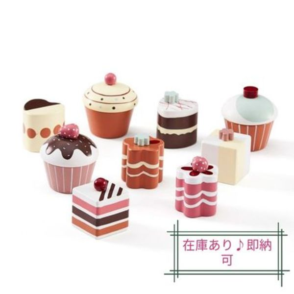 関税送料込み!!Kids Concept Pastries 9piece set 【即納可】