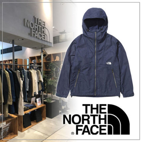 【THE NORTH FACE】ナイロンデニムコンパクトジャケット