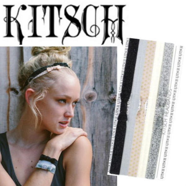 KITSCH BOW HEAD BAND 5SET