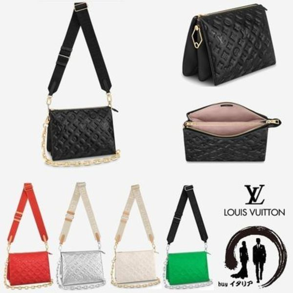 [LOUIS VUITTON]【Coussin PM】3way レザー バッグ クッサン PM