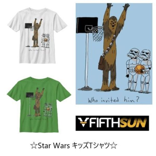 人気Boy'sTシャツ【Fifth Sun】Star Wars Chewbacca