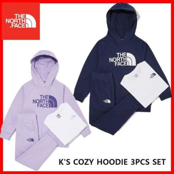 [THE NORTH FACE] K'S COZY HOODIE 3PCS SET ★すぐ品切れ★