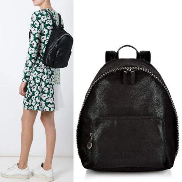 16SS SM139 STELLA McCARTNEY shaggy deer mini backpack