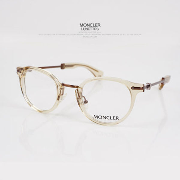 [海外配送]  MONCLER EYEWEAR (MC504V01) BROWN