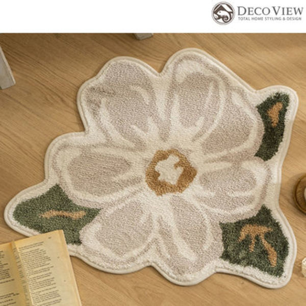 DECO VIEW(デコヴュー)★ Blossom Soft Foot Mat- 65X54