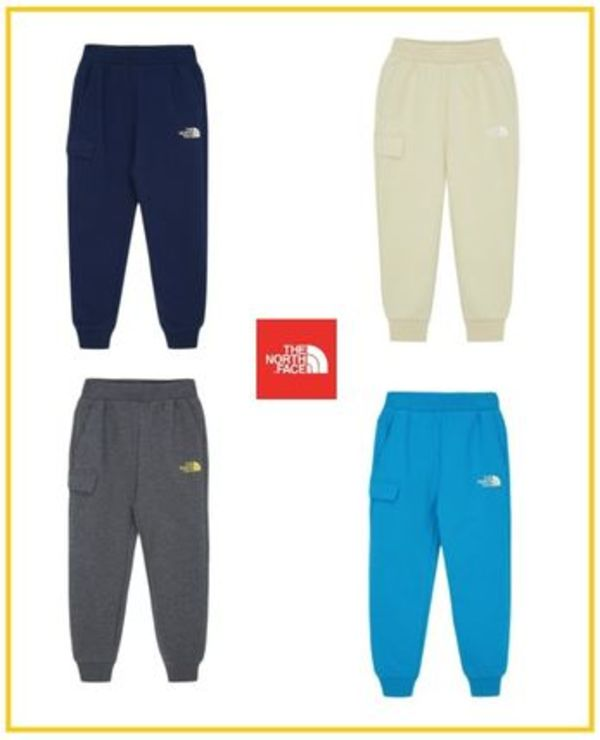 【THE NORTH FACE】K'S EASYCOZYJOGGERPANTS NP6KM02 4色展開