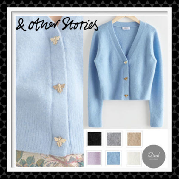 【& Other Stories】 Bee Button Alpaca Blend Cardigan
