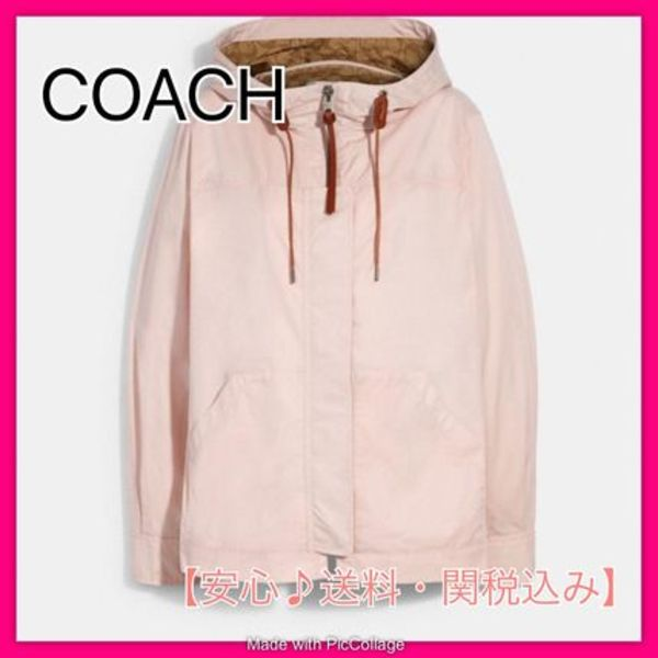 *COACH*Solid Short Jacket With Signature ジャケット♪