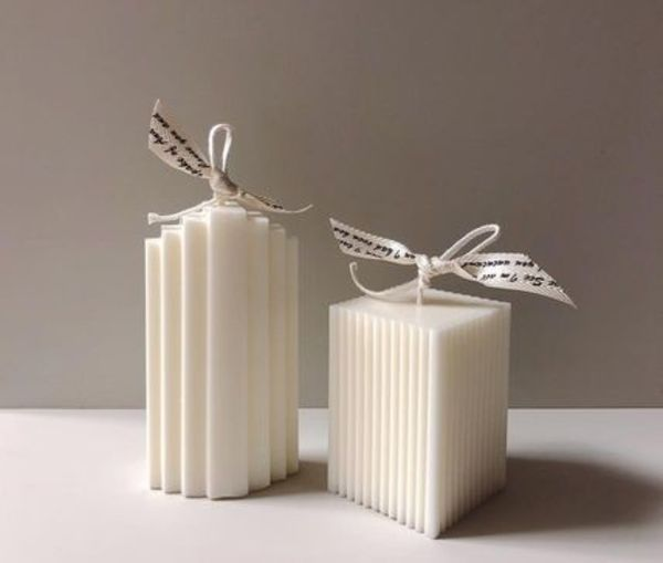 【F5NATURE】Cloud Candle , Block Candle