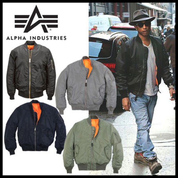 即発★【ALPHA INDUSTRIES】MA-1 FLIGHT JACKET メンズ 4色