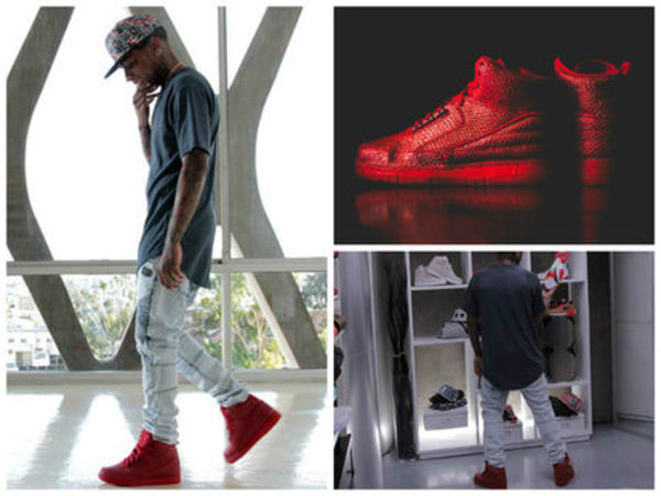 即納! NIKE AIR PYTHON PRM Red October Yeezy Jordan 赤 ナイキ