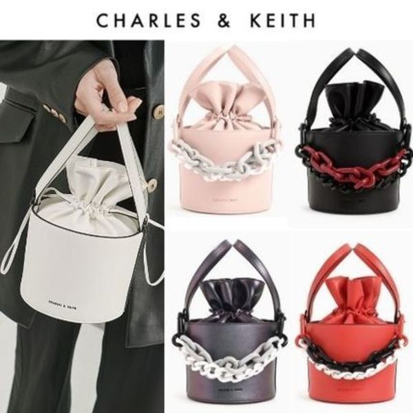 【Charles&Keith】限定色!3wayバッグ チェーン取外し可 *送料込