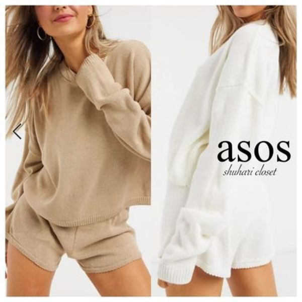 【ASOS】In The Style / Lorna Luxe lola  ニットセットアップ
