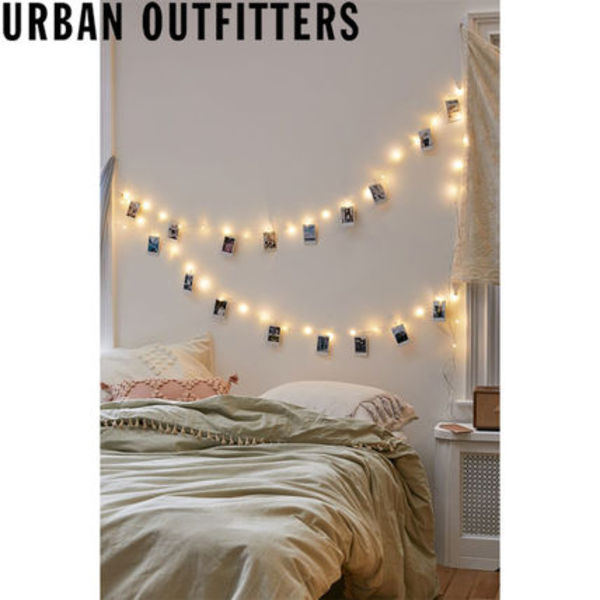 Urban Outfitters クリップ付き String Lights ライト 照明 2.3m