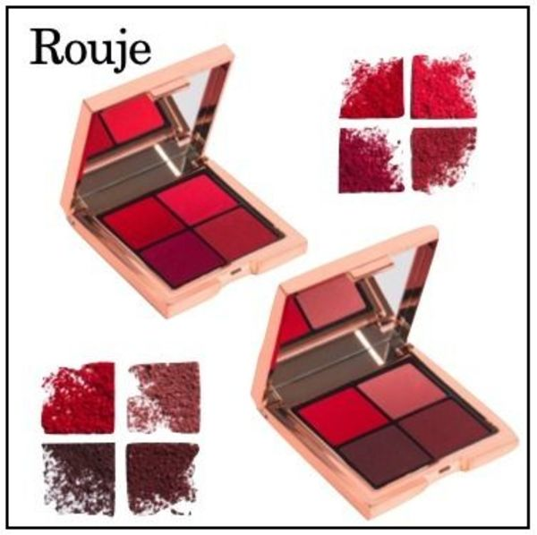 【Rouje】フランス発  Les 4 Rouje 口紅パレット