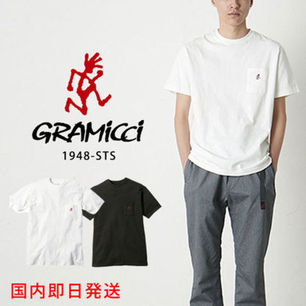 【GRAMICCI】1948-STS ONE POINT TEE グラミチ  Tシャツ S M L