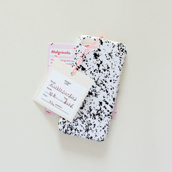 韓国可愛い雑貨☆IPhone hard case - marble(cookie)/MALGRECELA
