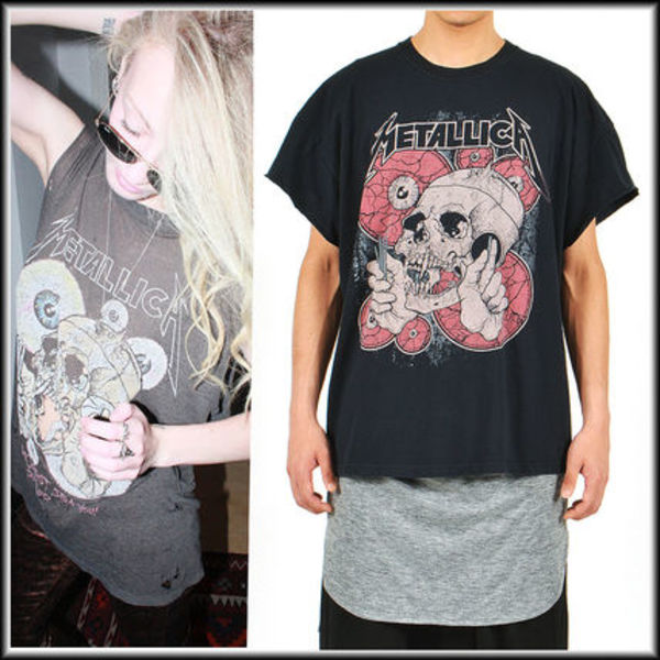 METALLICA THE SHORTEST STRAW/PUSHEAD ロックバンドTシャツ2XL