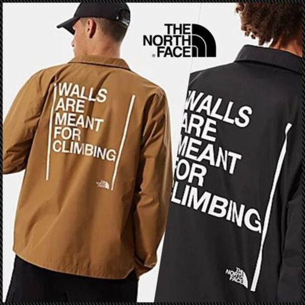 The North Face WALLS ARE MEANT FOR CLIMBING ジャケット