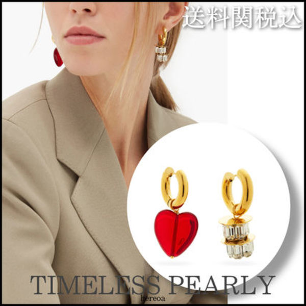 Timeless Pearly◆24Kゴールドプレーテッドミスマッチピアス